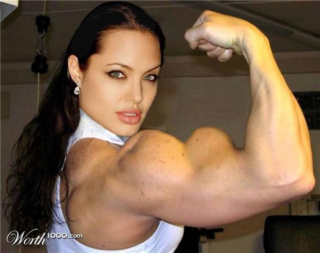 ¡Pillados! #Juego - Página 2 Angelina-Jolie-Funny-Face