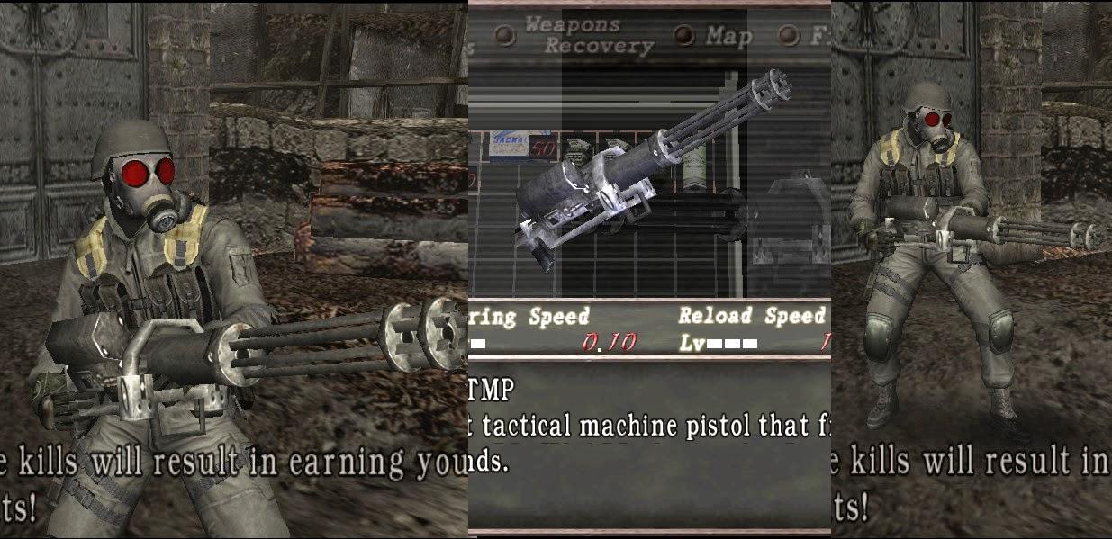 JJ-machine gun for Tmp - HUNK JJ_weapon