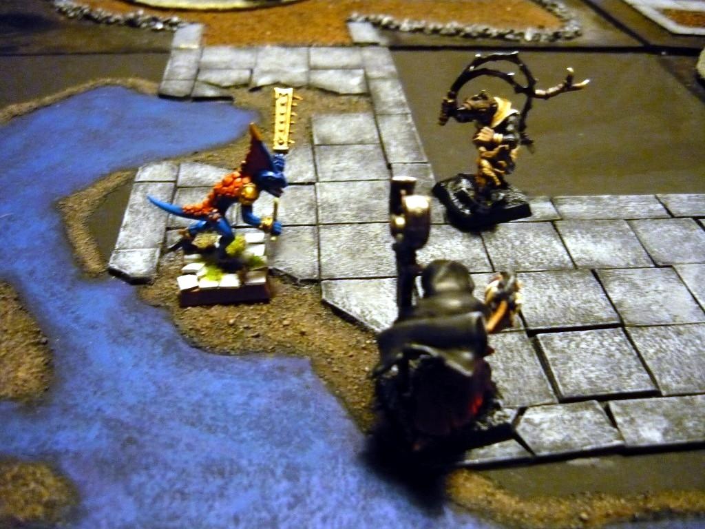 Testing Karak Zorn - first battle in the dungeons P1050570