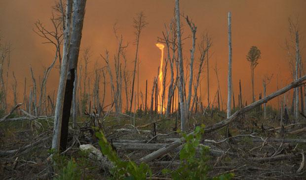 6 ظواهر مناخية عجيبة Firewhirl
