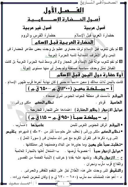 امتحانات وملخصات الثانوى العام مميزه جدا من مصراوى22 30