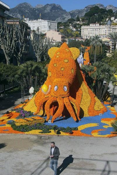 مهرجان الليمون والبرتقال في فرنسا 10