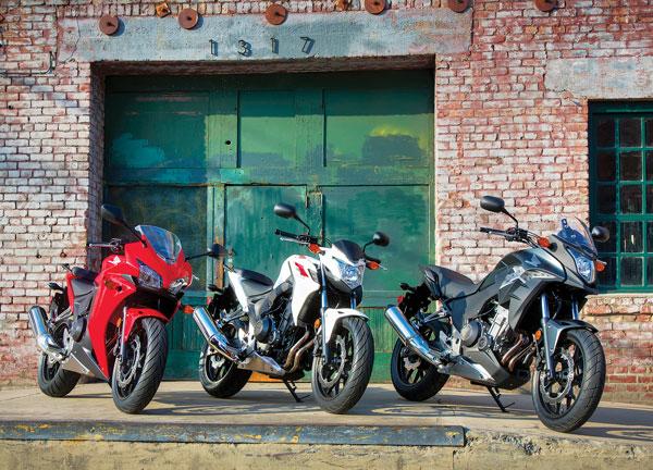 Honda CBR500R, CB500F y CB500X 2013-CBR500-CB500F-CB500X