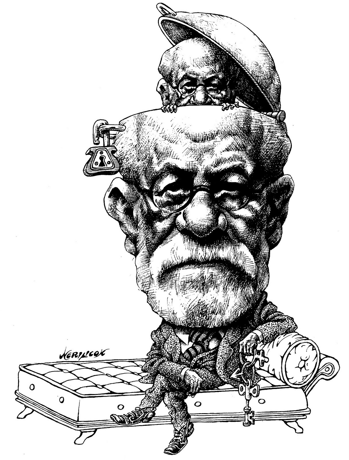 Freud e la Cocaina: una provocazione Sigmund%2BFreud