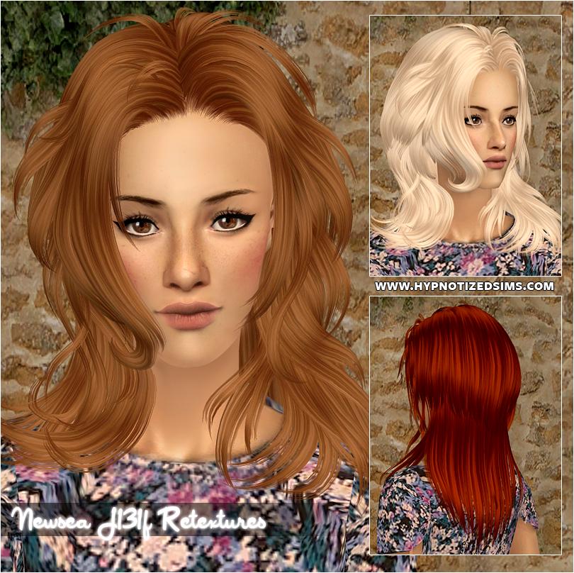 Прически для The Sims 2 .Женские 131