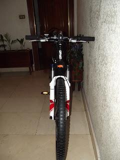 Presento los cambios que han dado lugar a la nueva bici que he montado sobre el 9C de 3,5 kW 6