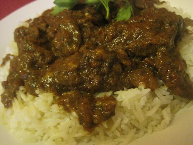Spicy Moroccan Rice with Tomatoes / Riz cuit  à  la marocaine bien épicé 01