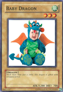 Your Yugioh Meme Baby-dragon