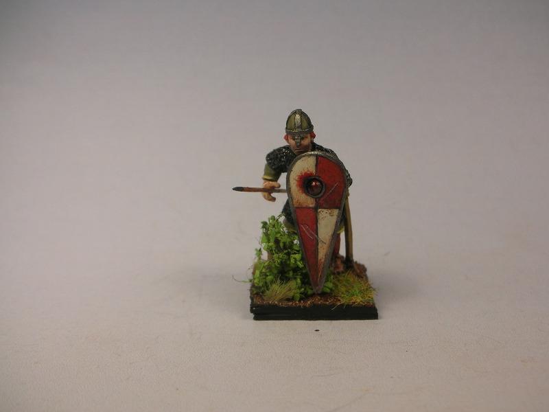 28mm Crusader spearmen for HC Crusader1HP