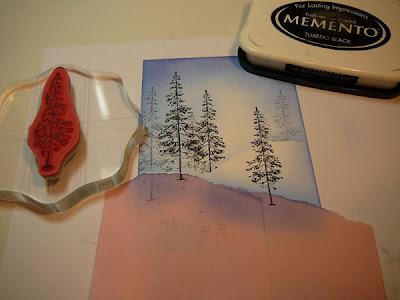25 novembre - Comment faire un paysage d'hiver T7