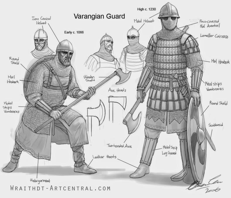 Quick 'n' Dirty Lamellar Armour Sculpting Tutorial Varangian_Guard