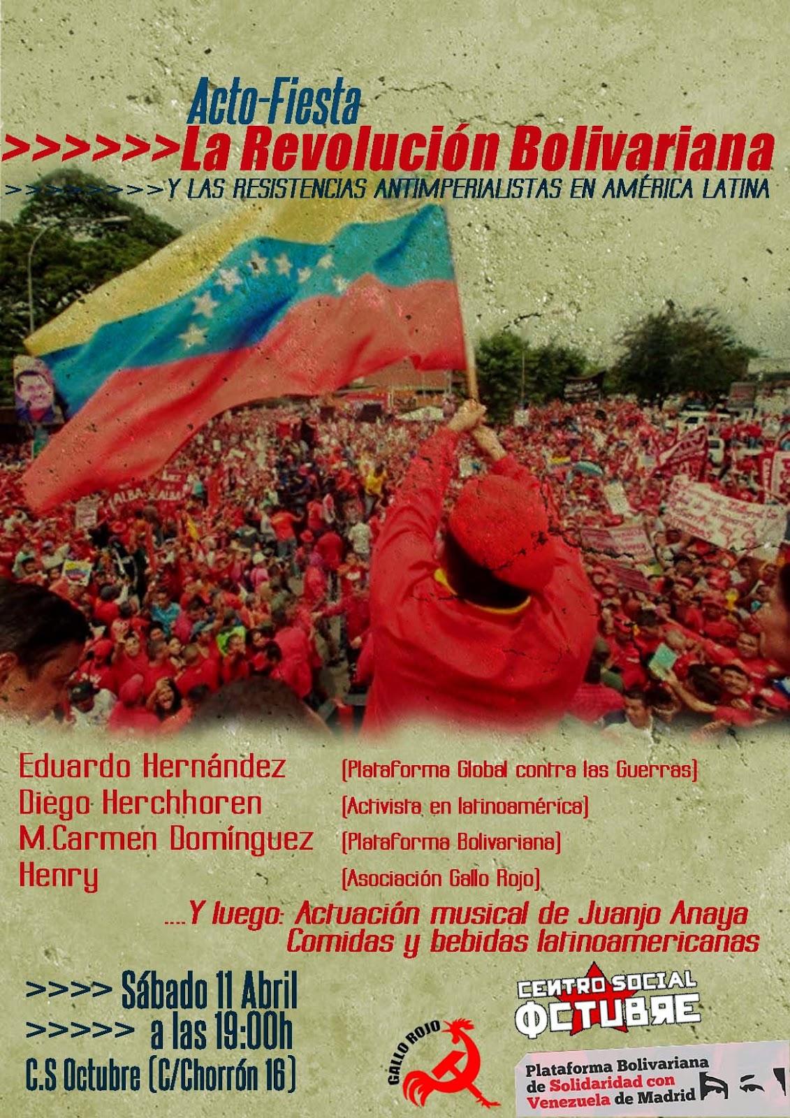 La resistencia bolivariana y latinoamericana (Madrid) 11%2BAbril%2BGuadalajara