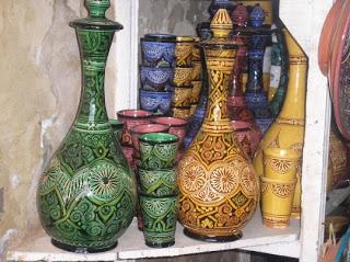 أطباق و أواني من الفخار صنع المغرب 7