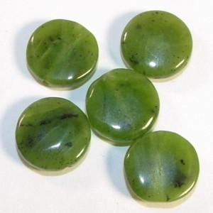 ما هو حجر اليشب او اليشم  Jade-bead3