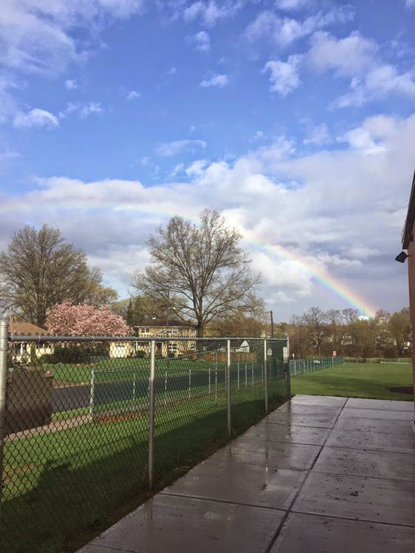 "WEATHER PHENOMENON: ""I Didn't Realize How Rare It Was,... It Was Beautiful"" - QUADRUPLE RAINBOWS Spotted On Long Island, New York! [PHOTOS] Quadruple_rainbows05"
