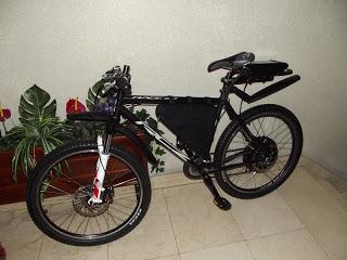 Presento los cambios que han dado lugar a la nueva bici que he montado sobre el 9C de 3,5 kW 2