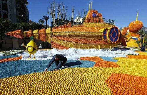 مهرجان الليمون والبرتقال في فرنسا 5