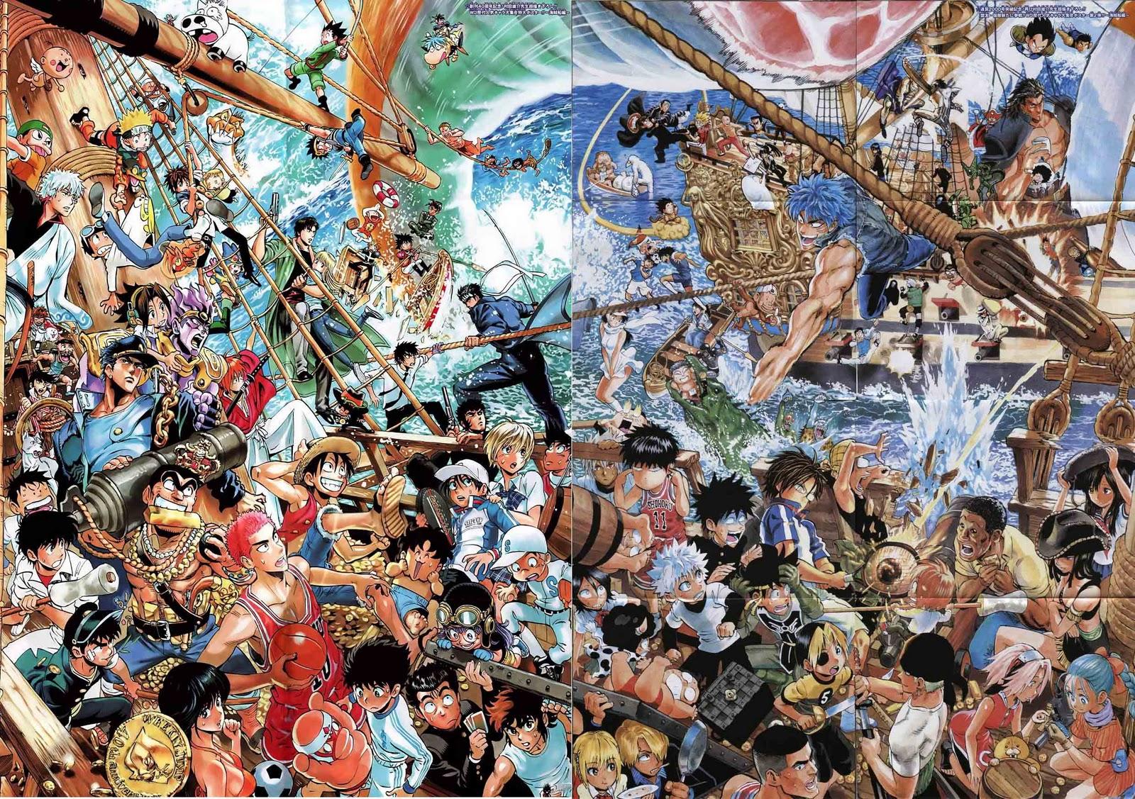 Shonen Jump Manga Series Url