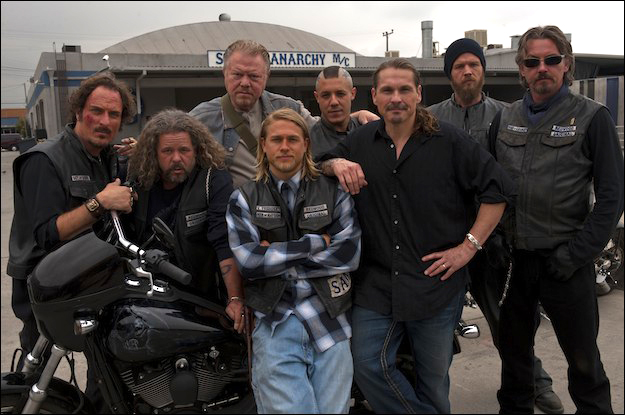 Sons of Anarchy/ Hijos de la anarquia - Kurt Sutter (2008 - Actualidad) Sons-of-anarchy-cast