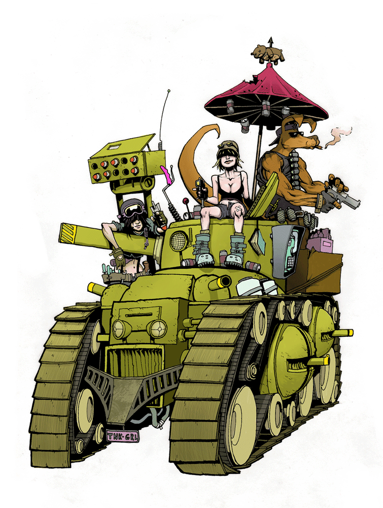 HAPPY BIRTHDAY TIM (Tank1252) - Page 4 Tank-girl