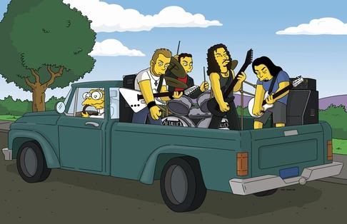 ¡Googlead, perras! - Página 3 Metallica-los-simpsons