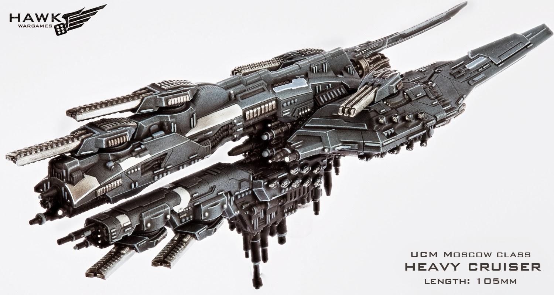Dropfleet Commander by Hawk Wargames Moscow