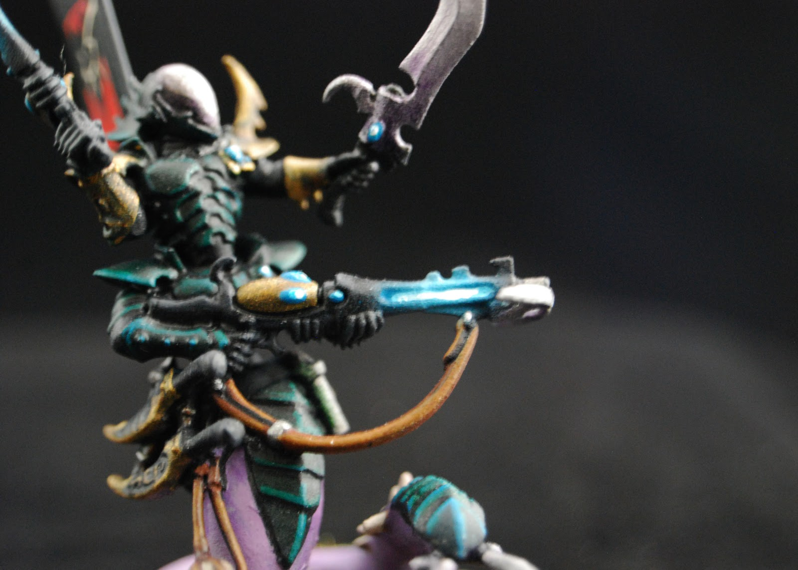 EOE's Dark Eldar Painting Tutorials  Sslyth_Painted_5