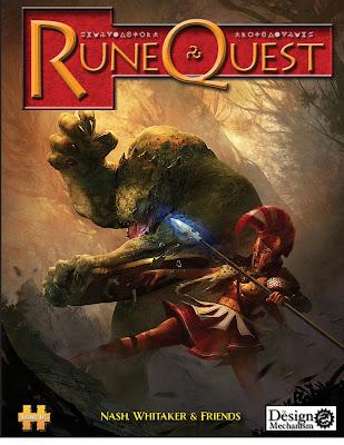 Se va a traducir el Runequest 6 al castellano RuneQuest6_DesignMechanism_cover