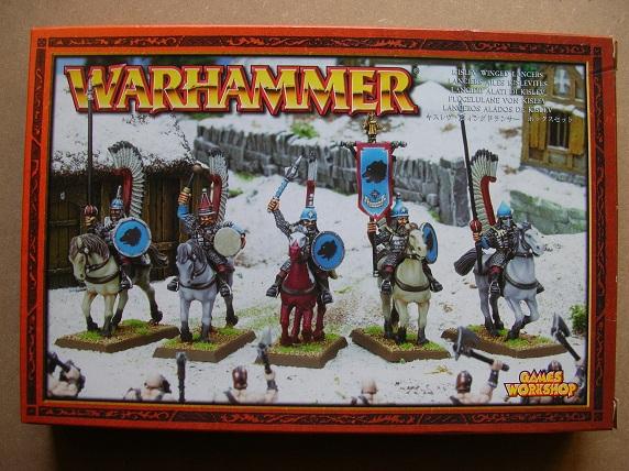 kislev - Kislev Horse Archers & Kislev Winged Lancers x 2 boxes each DSCN7533