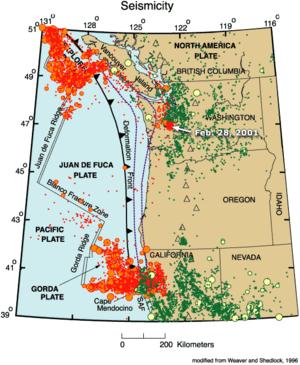 falla cascadia - Falla de Cascadia científicos alertan: aumentan sismos frente a costa de USA 300px-Juan-de-fuca-plate