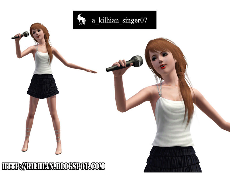 Pose Set N°01 - On Stage! by Kilhian Singer07