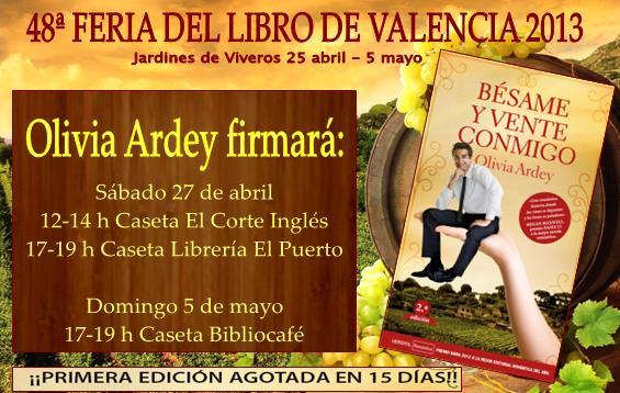 Valencianas, os espero en la Feria del Libro de Valencia Feriavalencia