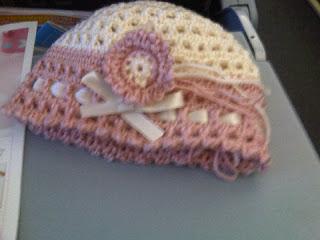 CROCHET - Jayne's baby hat  - gorrito para tres meses a crochet IMG00528-20130515-1201