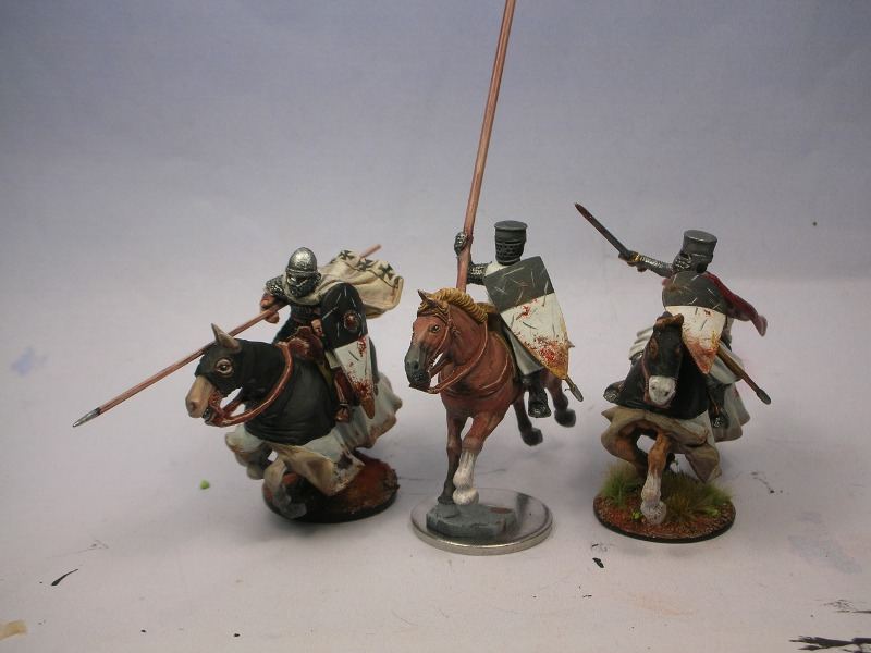 28mm Crusader spearmen for HC AlltogetherHP1
