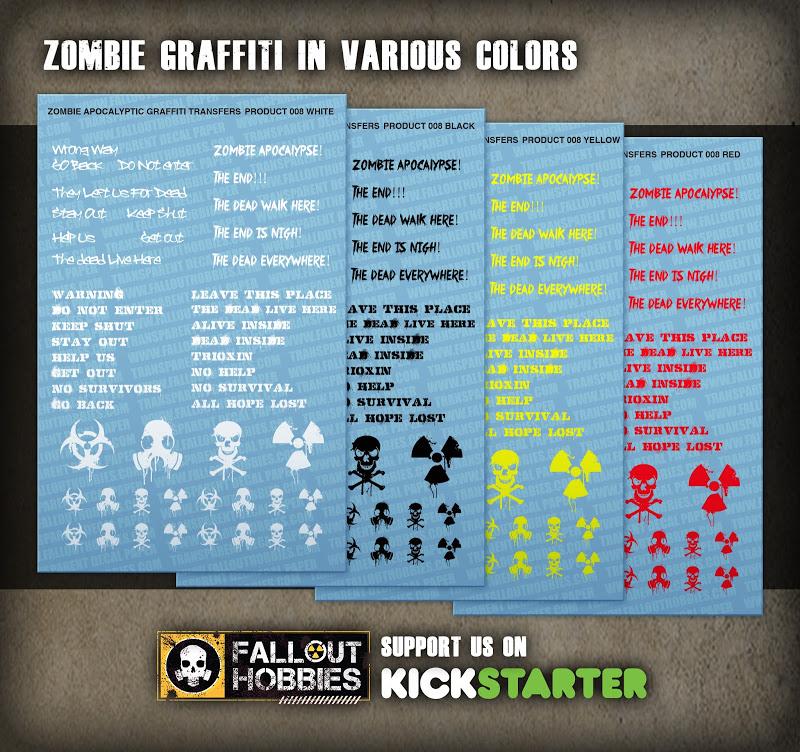 Dark Eldar Tribal Hull Decals From Fallout Hobbies Product%2BShot-Zombie%2BGraffiti