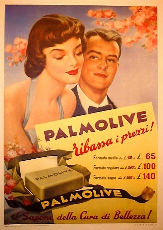 Aquellos anuncios Palmolive