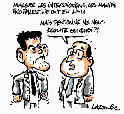 A RIRE OU EN PLEURER OU REVUE DE PRESSE SATIRIQUE - Page 13 Lacombe210714d_COL