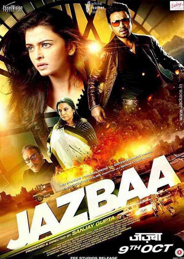 JAZBAA (2015) con AISHWARYA RAI + Jukebox + Sub. Español + Online Jazbaa-poster-3