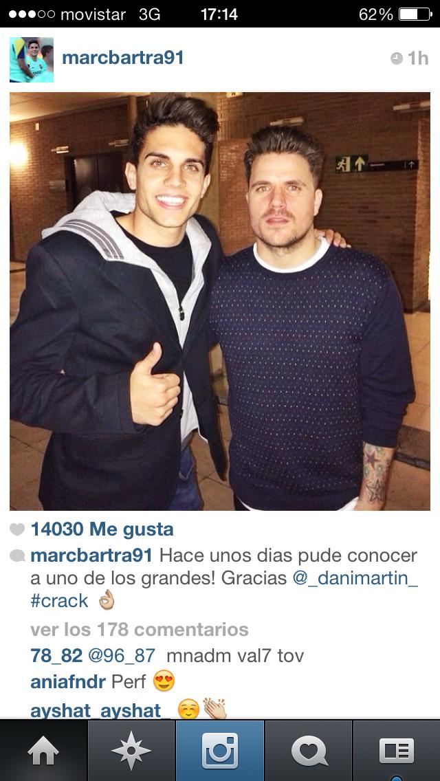 ¿Cuánto mide Dani Martín? - Altura BARTRA
