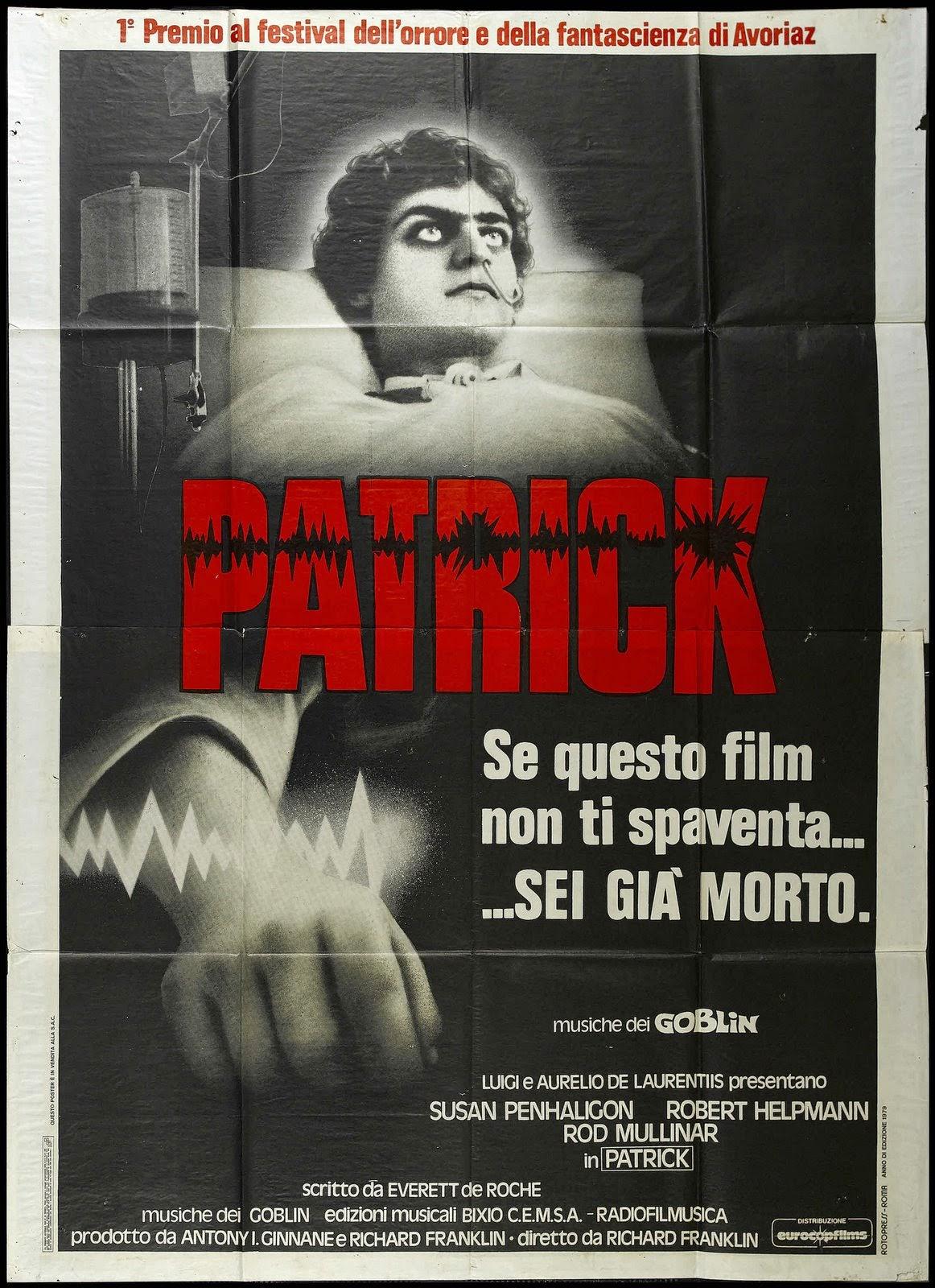 Recomienda una pelicula - Página 4 Patrick%2B(1978)%2BPoster
