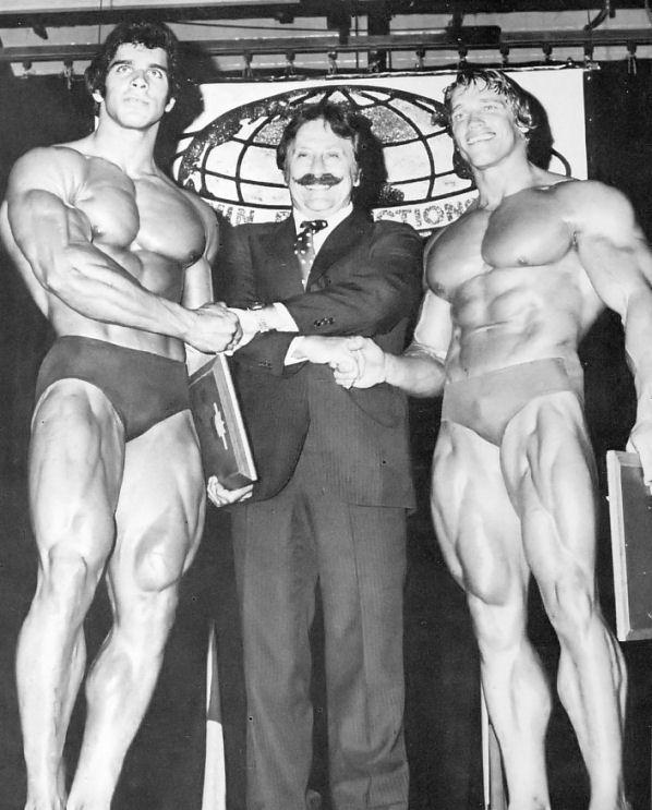 ¿Es verdad que el gimnasio de muy joven frena el crecimiento? Arnold-Schwarzenegger-Vs-Lou-Ferrigno