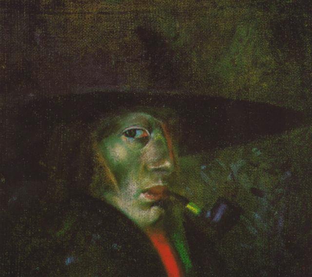 Salvador Dali Salvador%252BDali%252B-%252BSelf-portrait%252B%2528Figueres%2529%252B1921%252B
