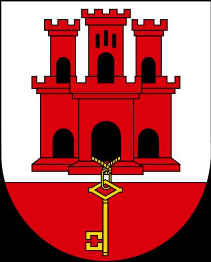 Le château de Piaf-Tonnerre Gibraltar_shield.