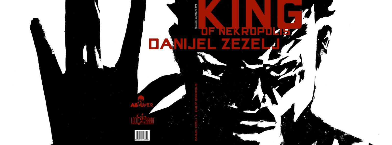 King of Nekropolis de Danijel Zezelj por Ed. Locorabia KING-cover-final