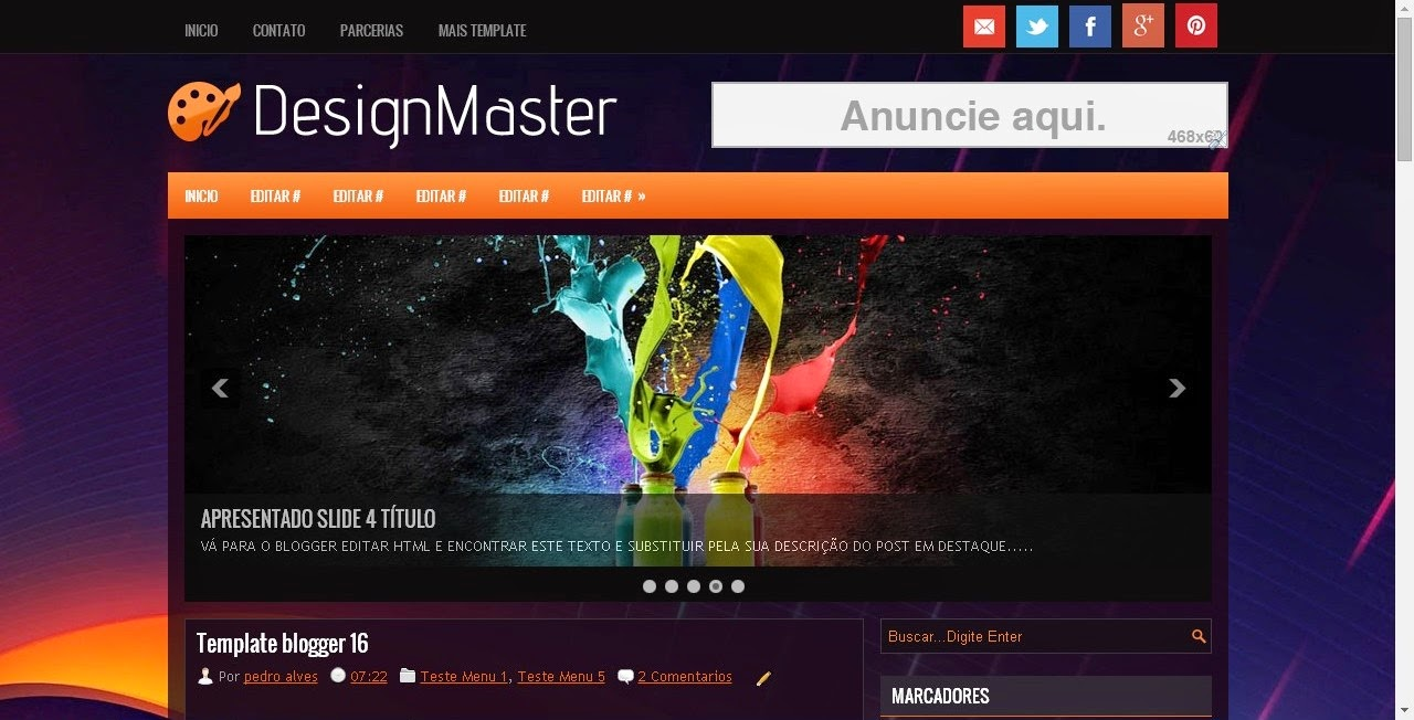 [BLOGGER] DesignMaster 01