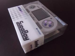 [SNES] Comparatif - Reviews des consoles portables SNES Supaboy