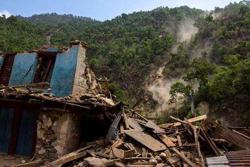 PLANETARY TREMORS: Fresh Tremors In Disaster-Ravaged Nepal - Strong 5.7 Magnitude Earthquake Hits Kathmandu! Nepal_quake03