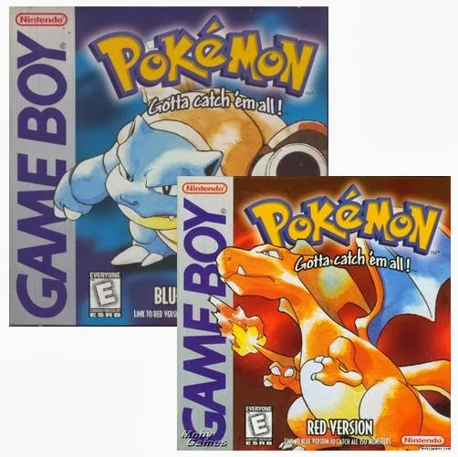 Pokemon Red/Blue Review Pokemon-red-and-blue