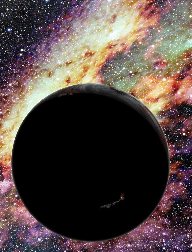 Le trou noir supermassif au centre de la galaxie  Planete-ejection-trou-noir_thumb
