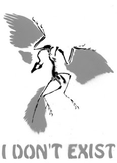 Dinosaur Hoax - Dinosaurs Never Existed! Archaeopteryx_by_ali_radicali-d4li2n9
